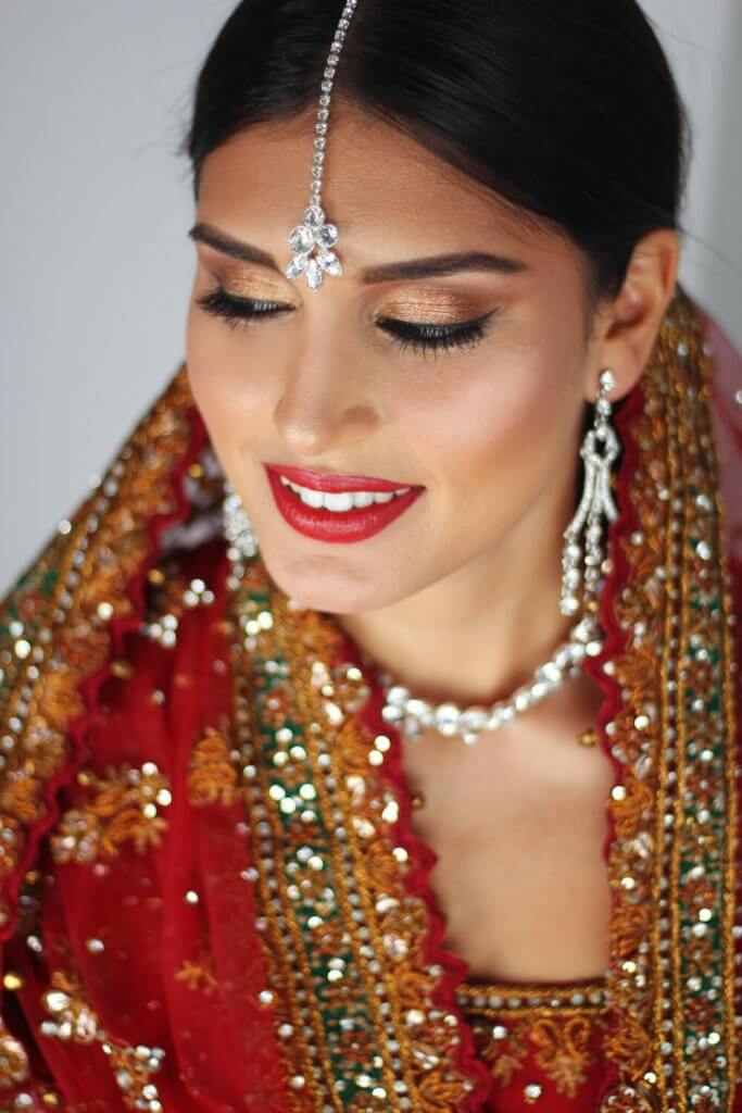 Brides makeup By Alma